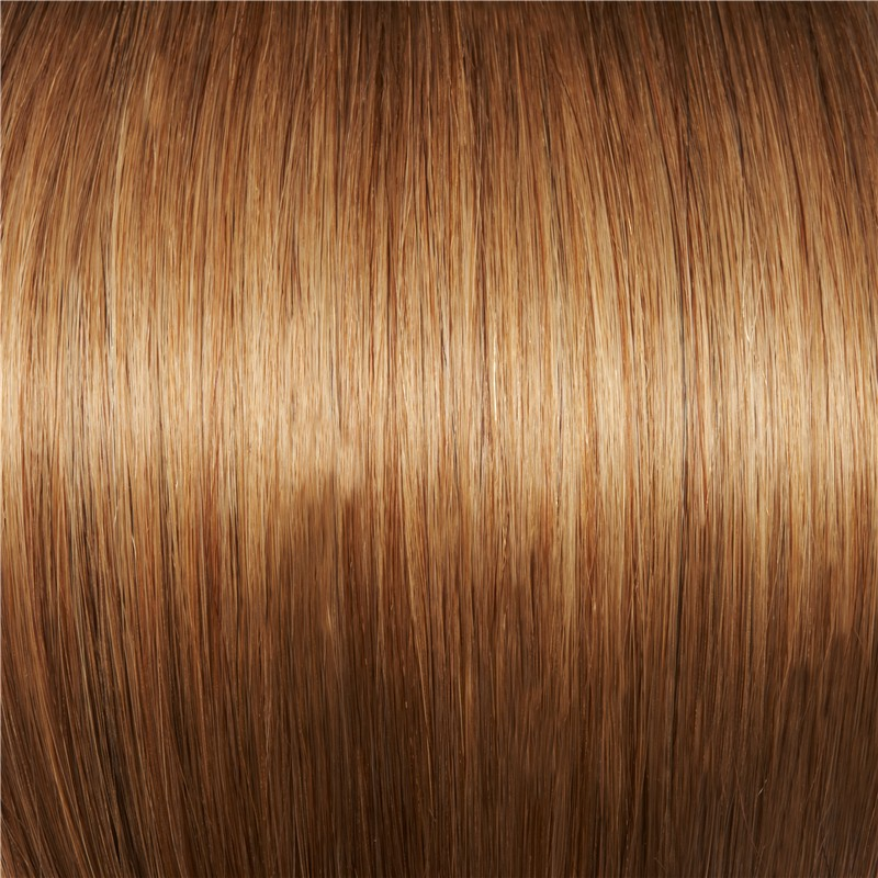 #12 WARM LIGHT BROWN  TAPE-IN HAIR