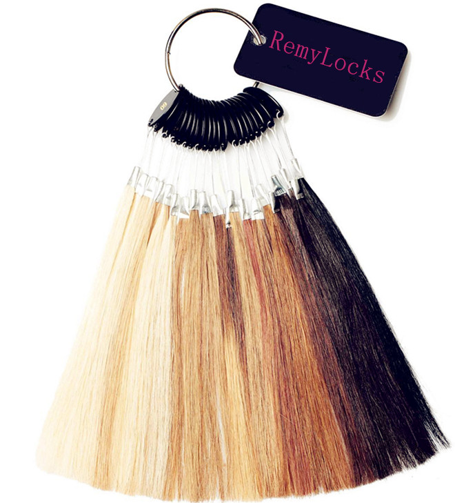 Color Chart Remy Locks